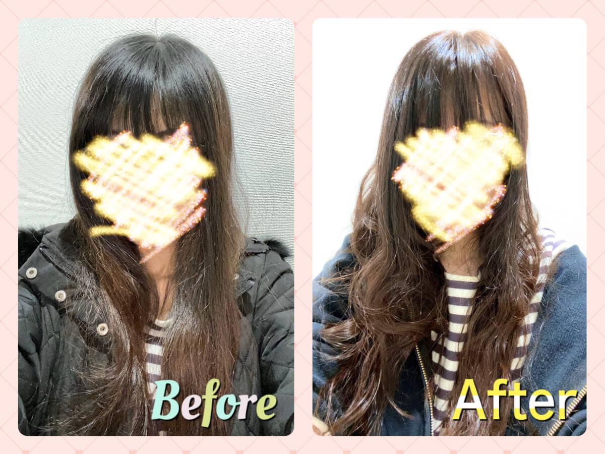 美容院:Before&After