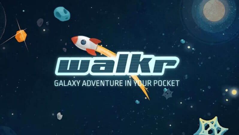 歩くのが楽しくなる惑星探索ゲーム「Walkr - ポケットの中の銀河冒険」