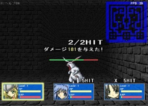 3DダンジョンタイピングRPG「Sword Finger V2」