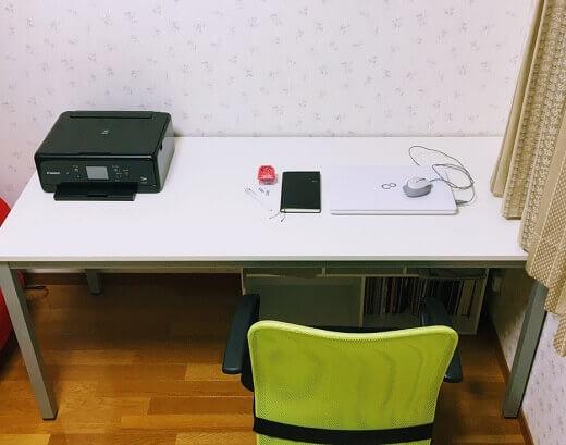 机と物のサイズ比較