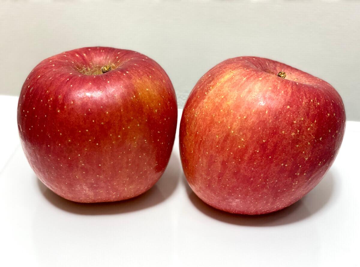 もらったリンゴ