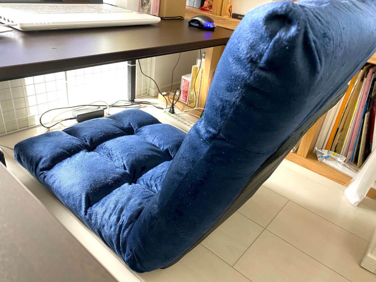 ローデスクのお供に14段ギアの座椅子を購入したよ