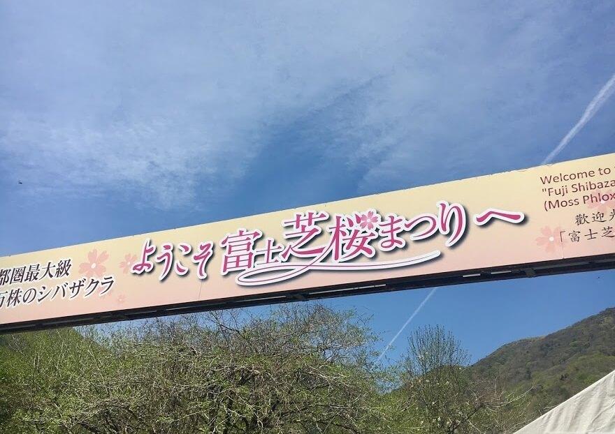 ようこそ、富士芝桜まつりへ