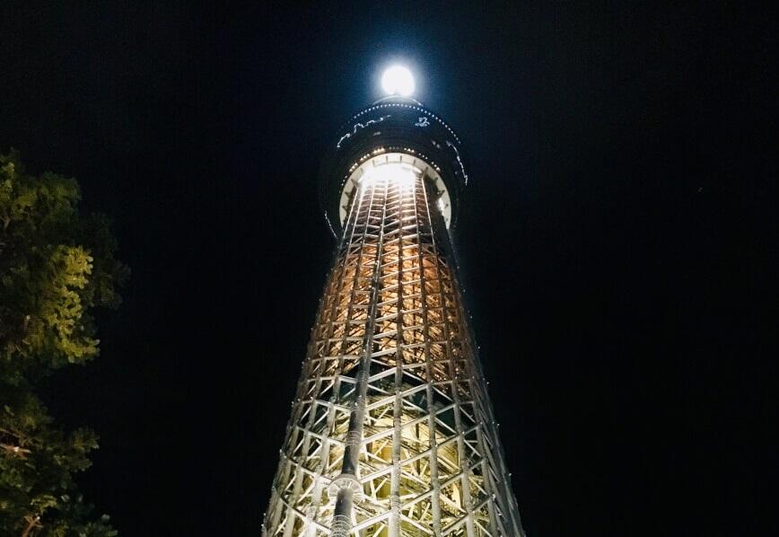 1人で東京スカイツリーの夜景を思いっきり楽しんできたよ☆彡