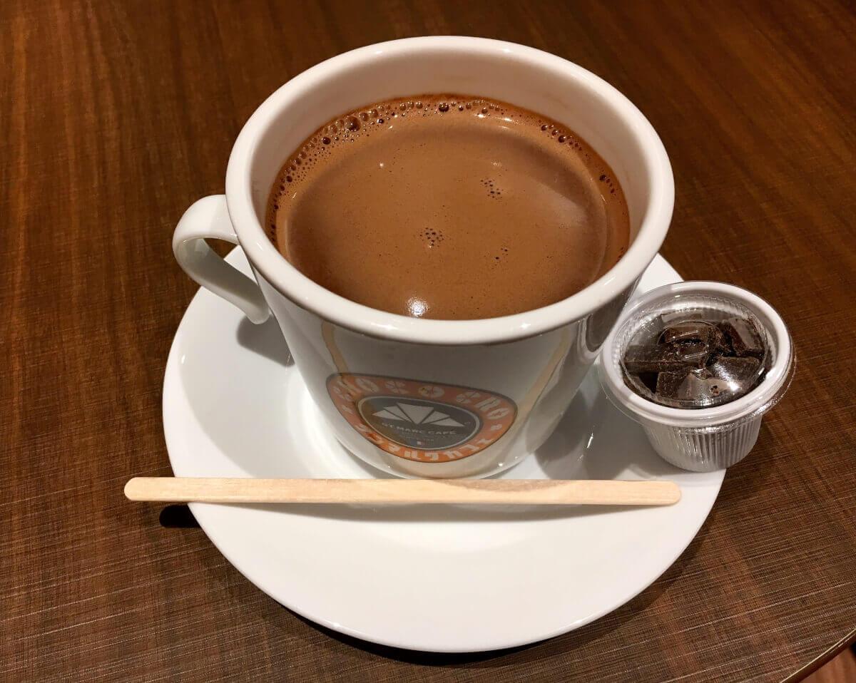 サンマルクカフェ「大人のホットチョコレート」を飲んでみた